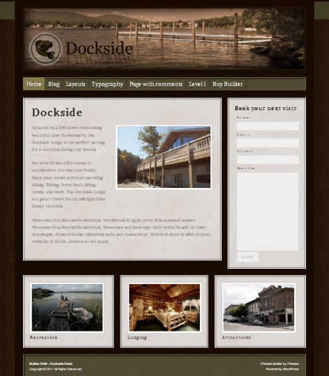 Dockside, iThemes Builder Premium WordPress Theme