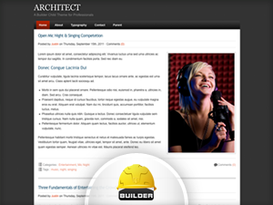 Architect Child Theme for iThemes Builder