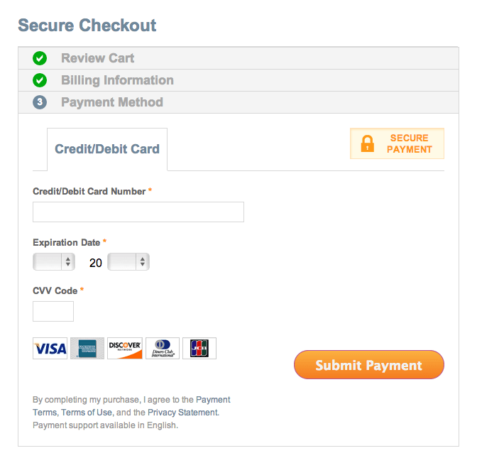2Checkout checkout process