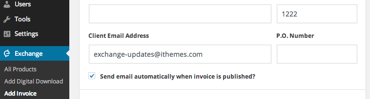 How To Organize Receipts Word Send Invoices With Wordpress  Ithemes Lic Policy Online Payment Receipt with Paid Invoice Sample Word Screen Shot  At  Am Automatic Invoice Processing Pdf