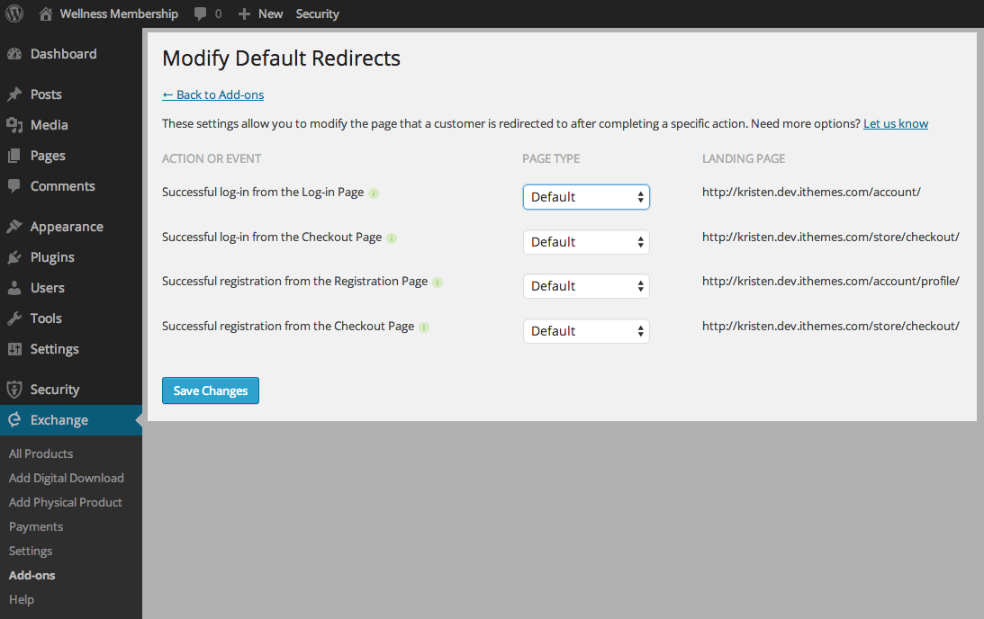 modify-redirects-settings-options