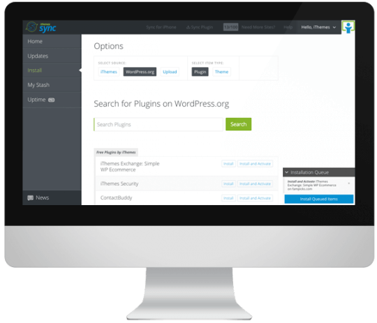 Install Themes & Plugins Remotely, WP Core Updates & Site