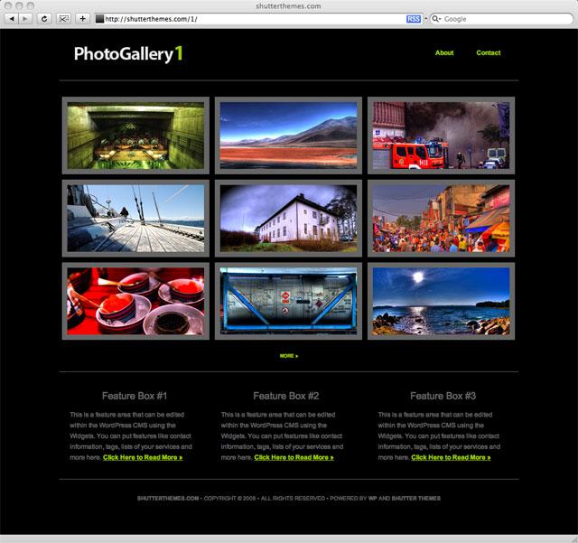 xseeerede2012: image gallery templates for websites