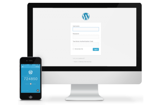 WordPress two-factor authentication
