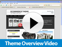 ecommerce video theme overview