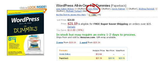 WP All-in-One for Dummies