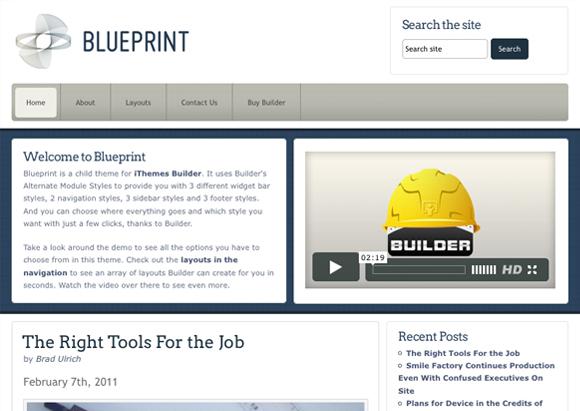 Blueprint ithemes ithemes blueprint malvernweather Images