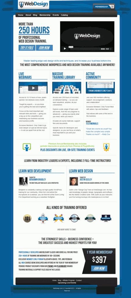 Premium WordPress and Web Design Training