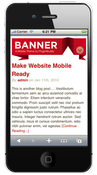 Mobile | iThemes