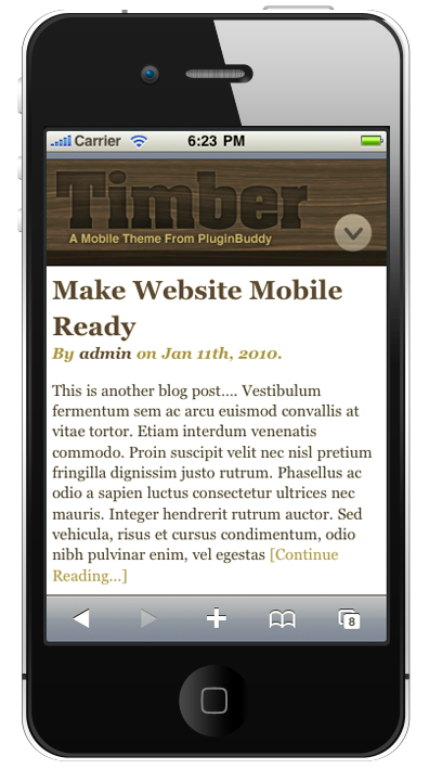 Mobile | iThemes