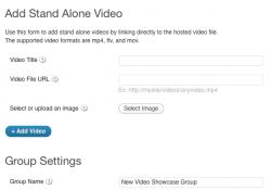 Adding a New Video