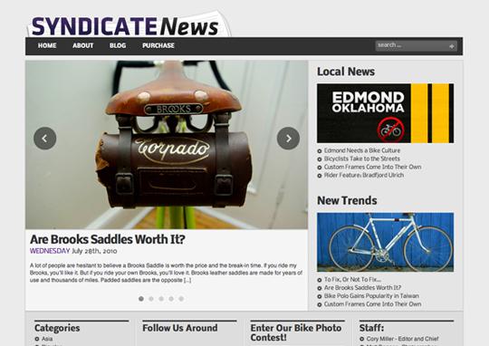 Syndicate News Theme