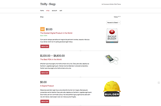 Thrifty Product Image