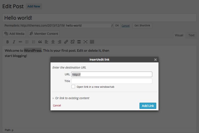 insert-edit-link-wordpress