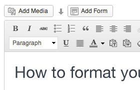 formattingposts