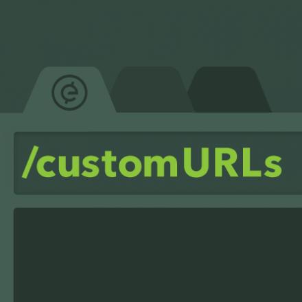 Custom URLs