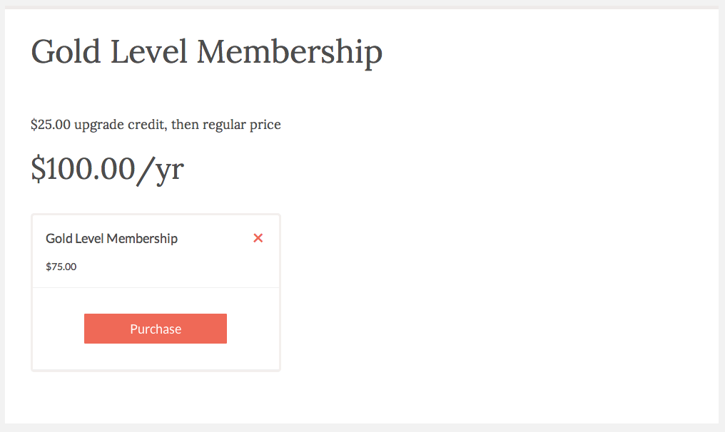 Membership Upgrades Made Simple | Exchange WordPress Membership Plugin