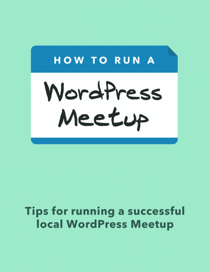 How to Run a WordPress Meetup