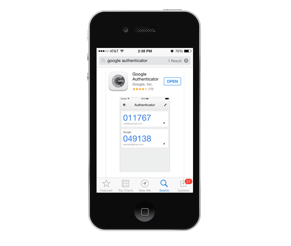google authenticator new iphone how to set up two factor authentication for your 14209
