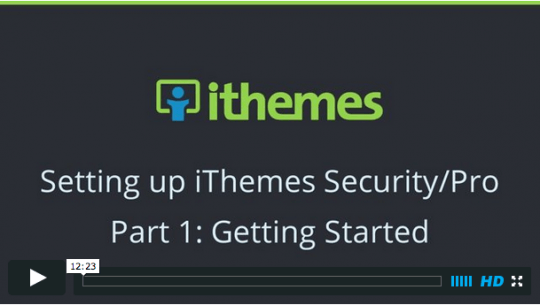 iThemes Security Tutorials