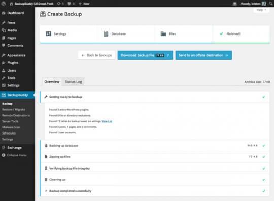 new-backupbuddy-backups-page