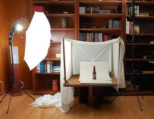 Ecommerce product photography setup