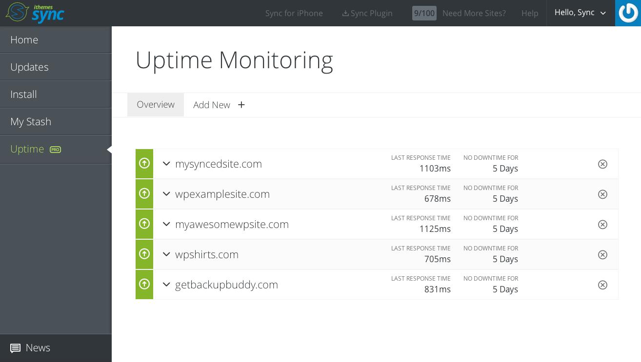 sync-uptime