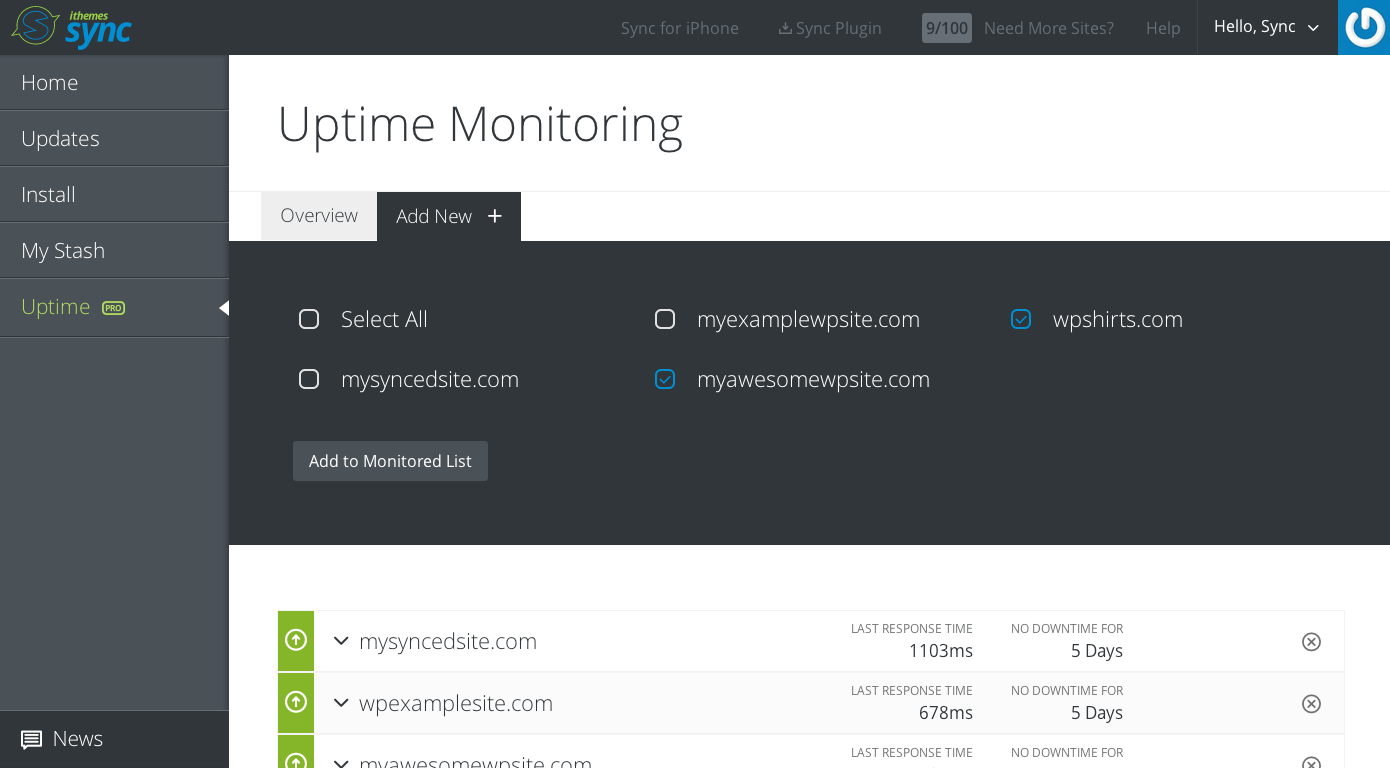 uptime-monitoring-add-site