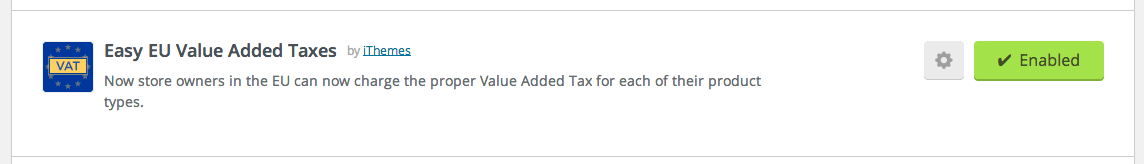 Easy EU VAT in plugin