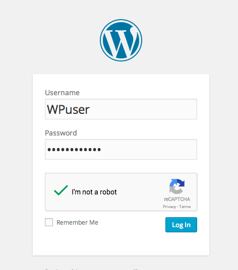 iThemes Security reCAPTCHA WP login