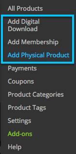 Add Products in iThemes Exchange