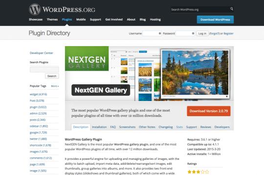 nextGEN-gallery-plugin