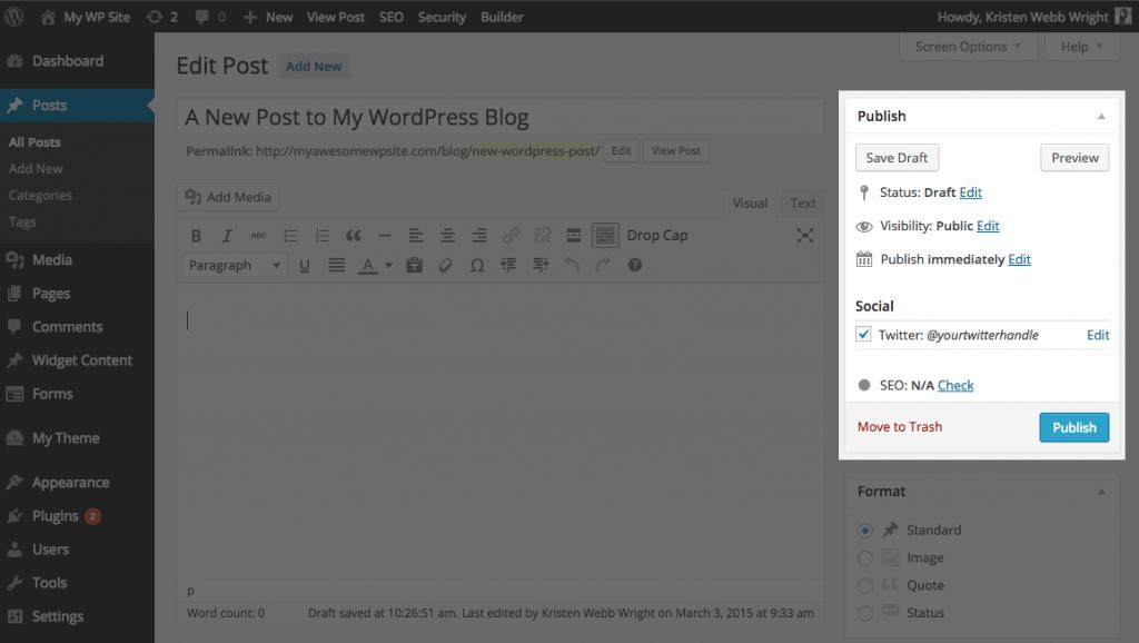 tweet-wordpress-posts