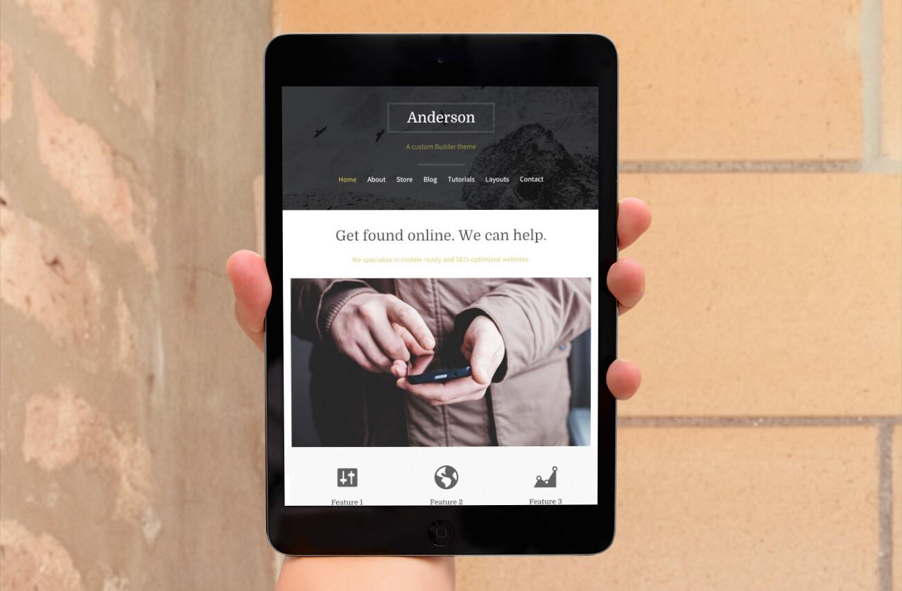 mobile-friendly-wordpress-theme