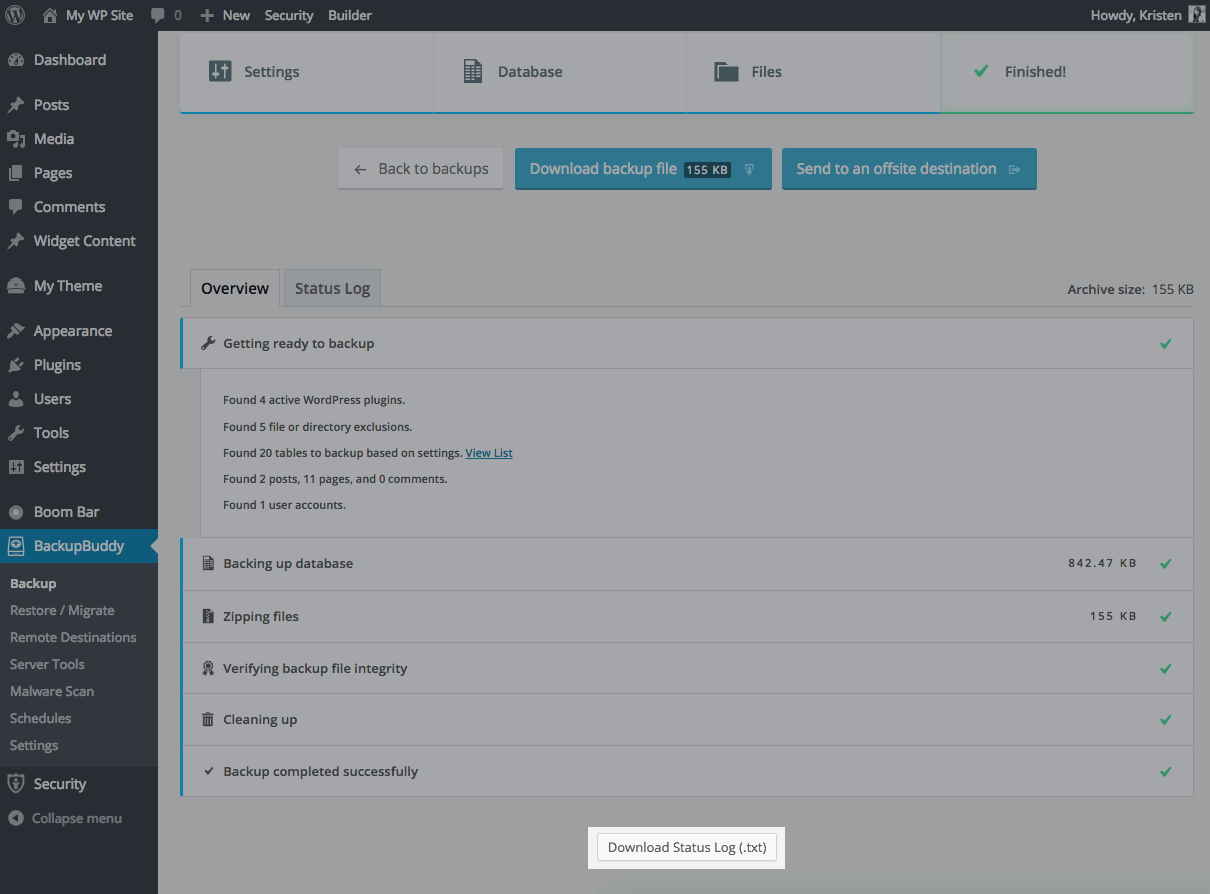 download-status-log-backup