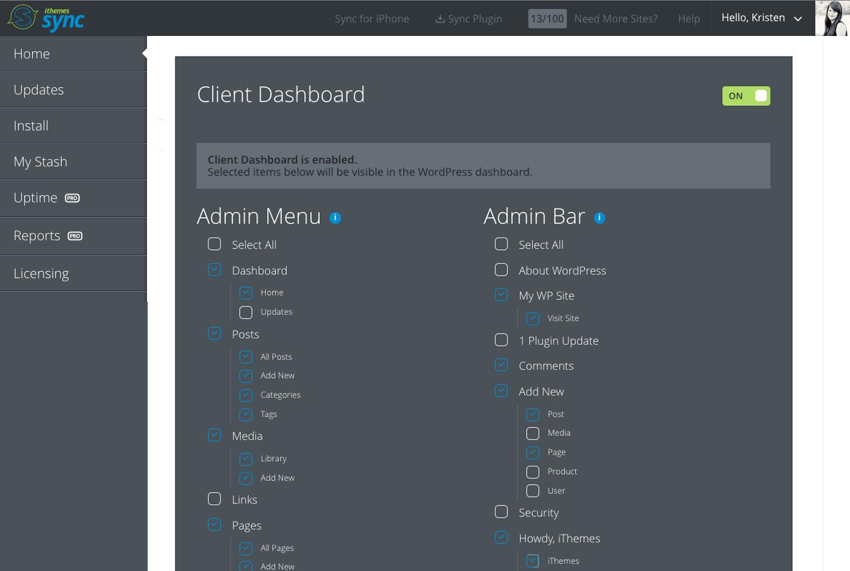 wordpress-client-dashboard-plugin
