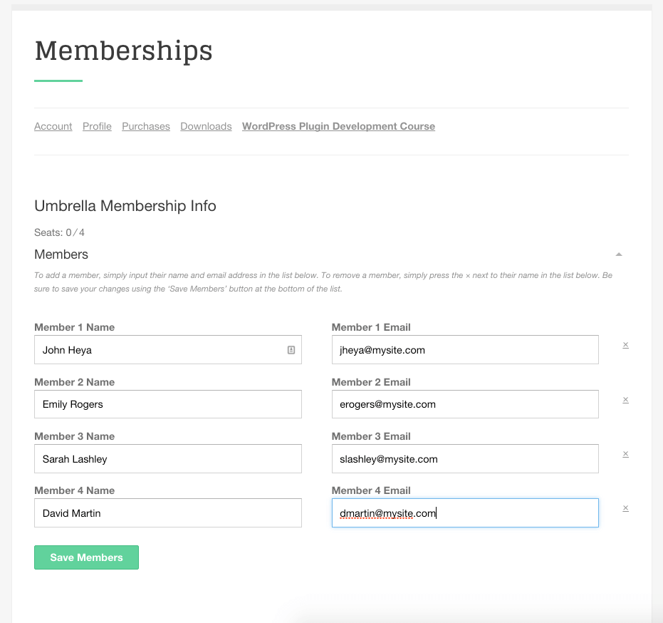 sell-membership-with-multiple-users