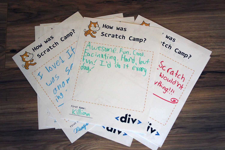Scratch Camp Feedback