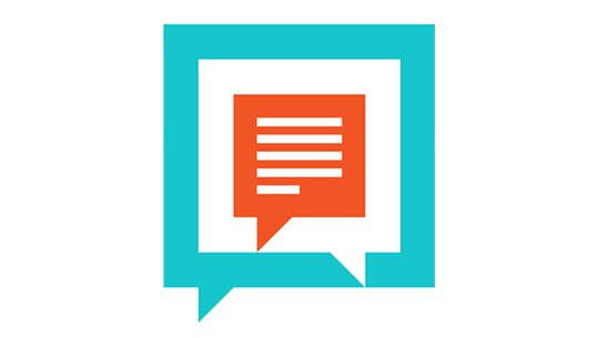 Abstract vector illustration of chatting flat design concept.
