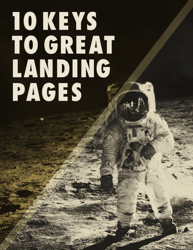 10 keys to great landing pages ebook