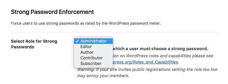 WordPress Passwords