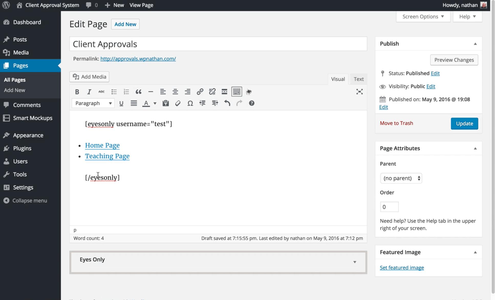 client link
