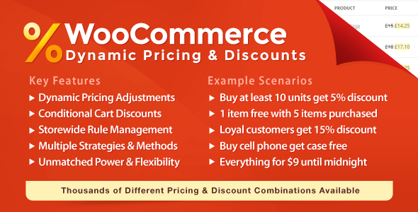 Dynamic Pricing Extension
