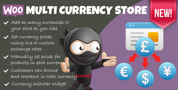 WooCommerce Multicurrency Screenshot