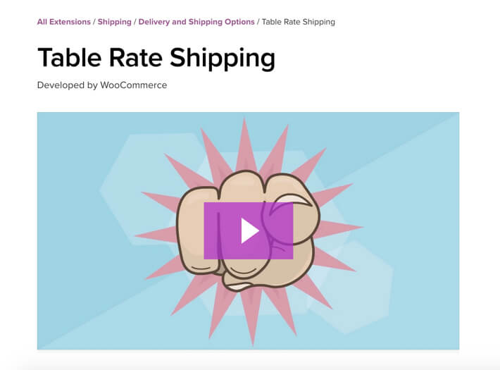 15 best woocommerce extensions for Table rate shipping