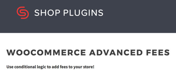 woocommerce advanced fees