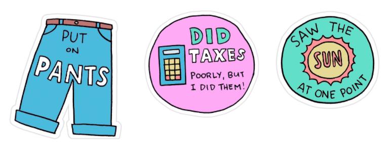 freelance stickers