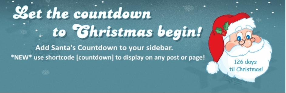 Christmas Countdown plugin