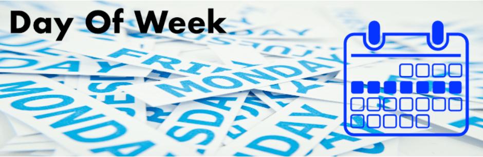 day of the week widget plugin