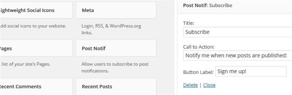 post notif plugin